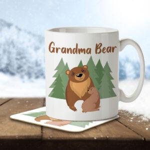 Grandma Bear – Mug and Coaster