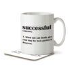 Successful Funny Definition - Mug and Coaster - MNC FUN 113 WHITE