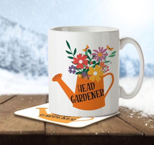 Head Gardener - Mug and Coaster - MNC HOB 048 ENV