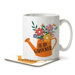 Head Gardener – Mug and Coaster